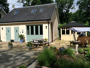 The Boat Hoose holiday cottage Loch Lomond