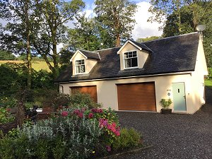 The BurnHowff holiday cottage Loch Loomond
